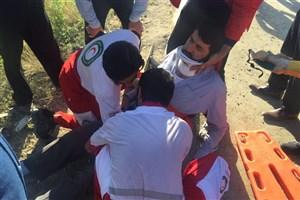 3 کشته در اثر واژگونی اتوبوس در محور رفسنجان