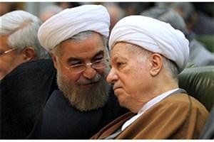 آیت الله هاشمی و حسن روحانی در جبهه/ عکس