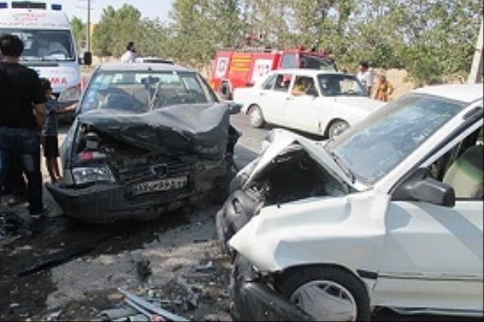 4 کشته در تصادف خودرو پراید با پژو 405