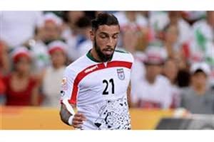 مصدومیت بد موقع دژاگه/ 23 بازیکن نهایی تیم ایران مقابل چین