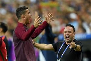 فینال یورو 2016 : لحظه سوت پایان بازی و اشک ها و لبخندها