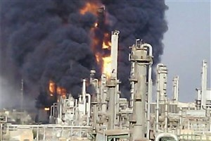 6 مصدوم در آتش سوزی پتروشیمی آبادان / حال یک مصدوم وخیم است