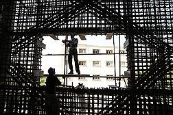پروژه درحال ساخت بیمارستان شهدای تجریش