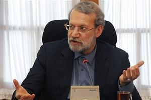 لاریجانی: بیشتر اعتبارات جاری کشور خرج ادارات میشوند/ دولتها خیلی فربه و بزرگ هستند
