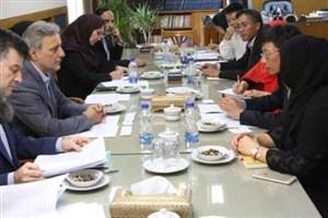 هیات عالیرتبه یک دانشگاه چینی از دانشگاه تهران بازدید کرد