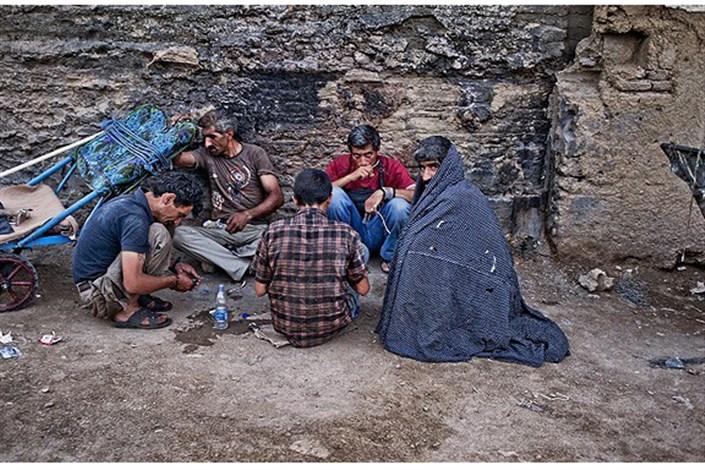پاتوق معتادان پایتخت