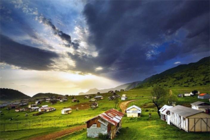 گاهی آسمان نزدیک  می شود! /جهان نما روستایی  ییلاقی در شمال ایران