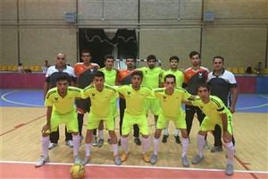البرز با پیروزی 4 بر صفر در برابر آذربایجان شرقی  به فینال مسابقات فوتسال دسته دو کشور راه یافت