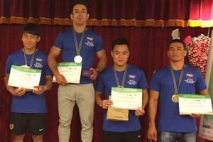 Bojnord IAU Student Takes 1st Beach Kurash Int'l Championship