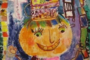 عضو 6 ساله کتابخانه تعطیل شده کانون، برگزیده اول نقاشی اسپانیا
