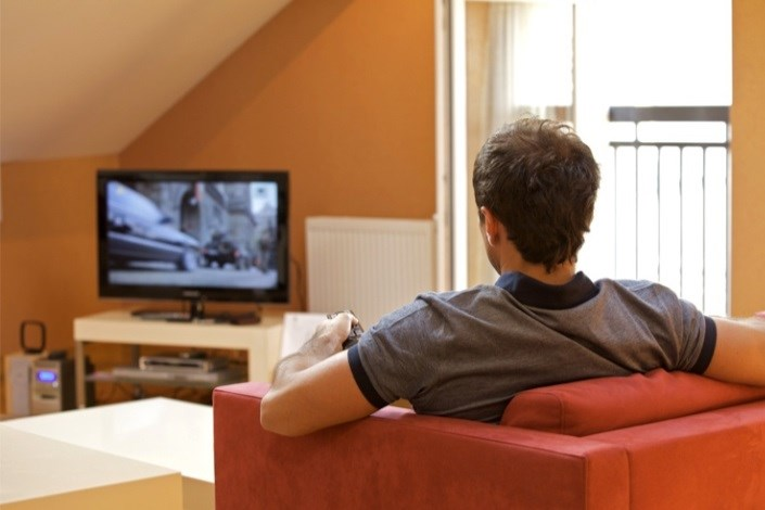 تماشای تلوزیون