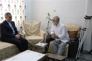 عیادت حسین فریدون از رییس نهاد نمایندگی رهبری