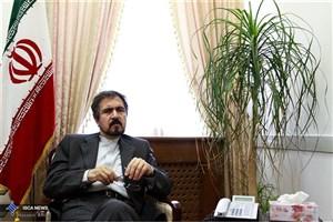 قاسمی:  وزارت خارجه درحال پیگیری موضوع دکل ها و پول های گم شده ایران است
