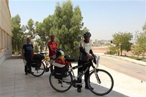 رکابزنی 3 دوچرخهسوار به نفع بیماران خاص