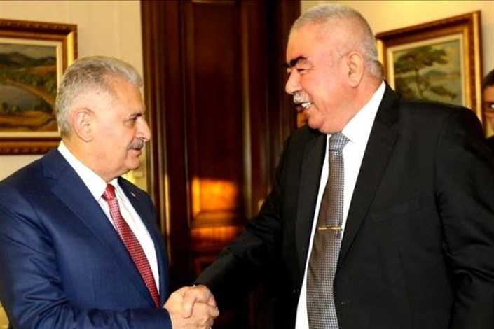 دیدار نخست وزیر ترکیه با معاون اول رئیس جمهور افغانستان