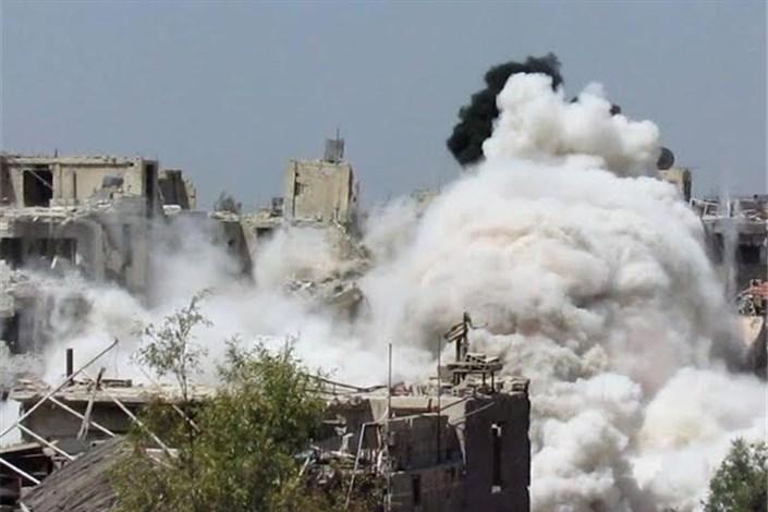 شکست مرحله دوم حمله گروههای تروریستی در حلب/ تاکنون ۱۰۰۰ فرد مسلح کشته شدهاندقندیل: آمریکا و عربستان با حمایت از جبهة النصره تلاش دارند محاصره حلب را بشکنندروسیه درخواست آمریکا درباره حلب را «غیرقابل قبول» خواندالمیادین: ارتش سوریه حمله افراد مسلح به جبهه غرب حلب را دفع کردنبرد نفسگیر در حلب ادامه دارد/ پیشروی محسوس محور مقاومت در جنوب و شمال + تصاویر<a> آمار تلفات سنگین گروههای تروریستی در حلب طی ساعات گذشته </a><a> روستای «العماره» و ۲ تپه راهبردی در جنوب حلب آزاد شد </a><a> دهها خانوار س