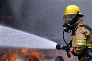 مهار آتشسوزی در ساختمان اداری در خیابان ولیعصر/حادثه مصدوم نداشت