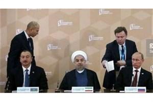 اهمیت دیدار سه جانبه روسای جمهور ایران -روسیه و آذربایجان در حل بحرانهای خاورمیانه وتقویت اقتصاد منطقه