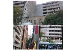ساختمان روزنامه اطلاعات در آستانه تخریب /عمارت قجری قدیمیترین روزنامه ایران، موزه مطبوعات نشد
