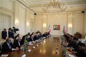 روحانی: هدف ایران گسترش روابط با آذربایجان و منطقه قفقاز به سوی تجارت آزاد است
