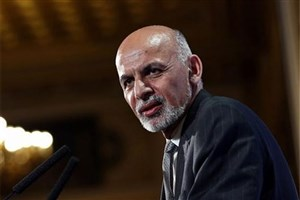 اشرف غنی: افغانستان خواستار راه حل دائمی در مساله آب است