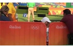 المپیک ریو 2016 :  اشک های زهرا نعمتی پس از حذف از المپیک ریو