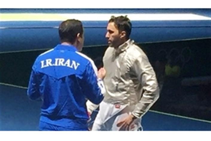 المپیک ریو 2016 : شکست علی پاکدامن از حریف آلمانی و حذف از المپیک