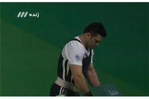 المپیک ۲۰۱۶: مهار وزنه ۱۸۶ کیلوگرم توسط محمدرضا براری در یک ضرب