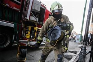 تانکر 30 هزار لیتری سوخت آتش گرفت/  مرگ راننده تانکر