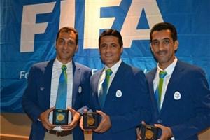 فغانی اولین داور آسیایی فینال المپیک+عکس