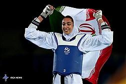 کیمیا علیزاده پرچمدار مسابقات تکواندو قهرمانی جهان 2017