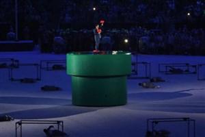 نخست وزیر ژاپن با لباس سوپر ماریو در مراسم اختتامیه المپیک