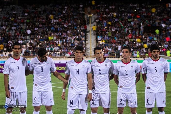 در حاشیه دیدار دوستانه فوتبال ایران-قرقیزستان