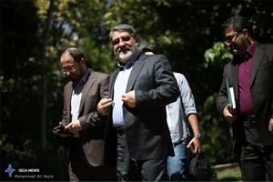 بازدید وزیر کشور از سد نرماب- چهل چای در استان گلستان