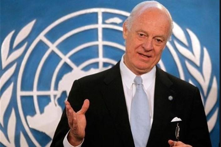 دیمیستورا خواستار توافق برای ارسال کمکها به حلب شدکاخ سفید: آمریکا از تعامل سازنده روسیه برای کمک به حلب استقبال میکنددیمیستورا: ارسال کمکها به حلب در گروی آتش بس است