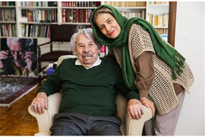 صحبت های احترام برومند همسر مرحوم داوود رشیدی در مراسم تشییع