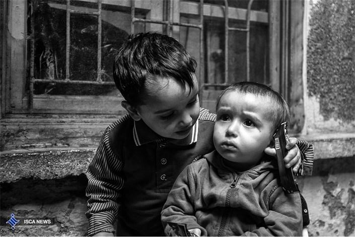 کودکان یتیم از جنگ سوریه