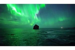 تصویربرداریِ خارقالعادۀ یک پهپاد از شفق قطبی
