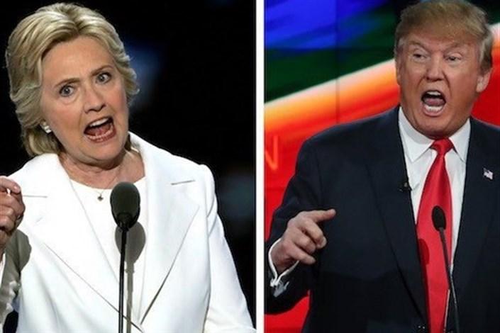 کلینتون و ترامپ منفورترین نامزدها در تاریخ انتخابات آمریکاکلینتون مجبور به شرکت در جلسه توجیه امنیتی افبیآی شدفاصله ترامپ و کلینتون در نظرسنجیهای هفته گذشته اندکی کاهش یافت+نمودارکلینتون: ایمیلها و فعالیتهای بنیاد تهدیدی برای رسیدن به کاخ سفید نخواهد بودآسانژ: اسنادی علیه کلینتون منتشر میشود که فضای سیاسی آمریکا را دگرگون میکند