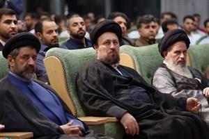 اختتامیه اردوی دانشجویان دانشگاه آزاد اسلامی با حضور آیت الله سید حسن خمینی