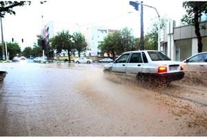 آغاز بارش باران  در مناطق سیل زده از سهشنبه