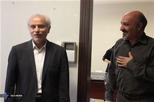 بازدید سرزده سجادی از فدراسیون شطرنج/بازی معاون وزیر با قائممقامی+ عکس