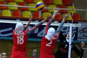 هشت تیم در یکچهارم مسابقات دسته 3 والیبال دانشجویان دختر دانشگاه آزاد اسلامی