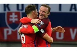 خلاصه بازی: اسلواکی 0 - 1 انگلیس