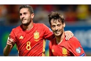 خلاصه بازی اسپانیا 8-0 لیختن اشتاین