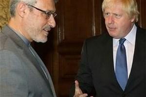 بعیدینژاد در سفارت ایران در لندن مستقر شد