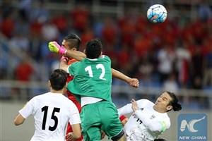 خلاصه بازی : ایران 0 - 0 چین