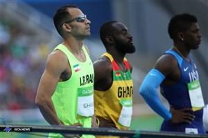 دونده المپیکی ایران در رقابتهای جهانی نجات غریق!