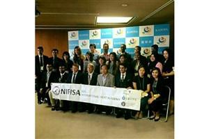 دعوت کمیته ملی المپیک ژاپن از پژوهشگر جوان ایرانی
