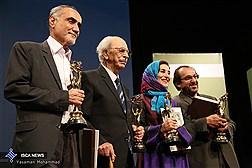 آیین نکوداشت چهار سینماگر برگزار شد